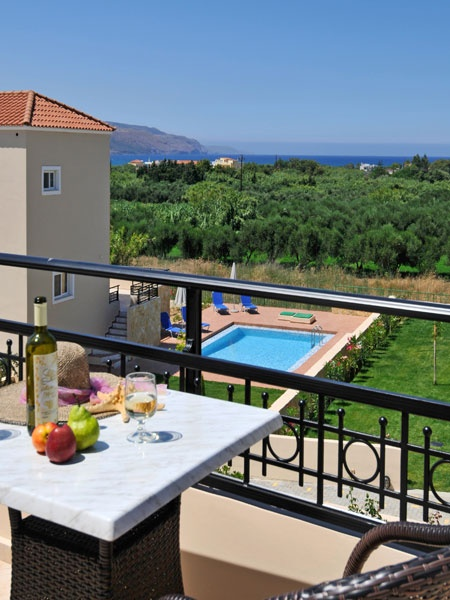 In one of the most beautiful areas of western Crete, built in a severe natural landscape full of trees and colorful flowers, and only 600m from the beach, are for sale eight (8) extra-ordinary villas; an ideal investment for those looking for an opportunity to enter the Greek Tourism Business...