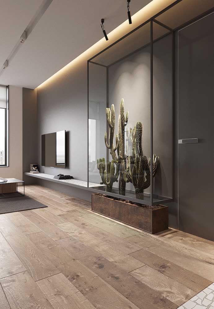 O Xique Xique foi exposto nessa sala como uma obra…