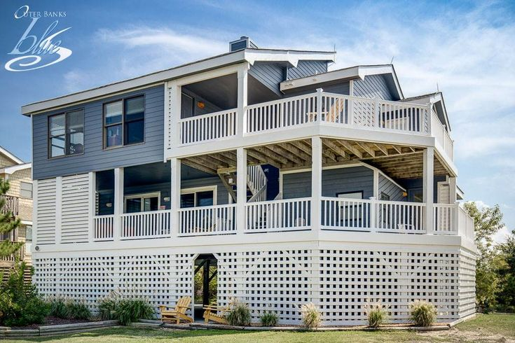New to Inventory for 2018! The Aiere has 5 bedrooms, 4.1 bathrooms, and is located 320 ft from the #beach. Rates from $1075 to $3595.- Corolla Vacation Rentals - Outer Banks Blue - Outer Banks Vacation Rentals