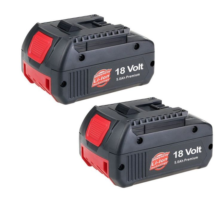 Bosch Coolpack Batteries Lithium Bosch 18V Cordless Drill 2 Pack