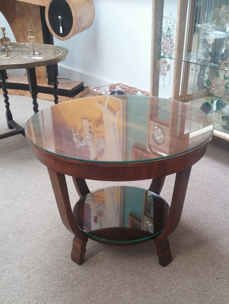 Now available at in store! Original 1930s art deco side table. Great condition :-)