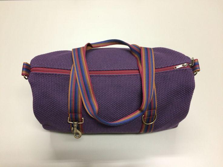 mod.16 - violet bag - multicolour stripes
