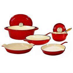 58 best Enameled Cast Iron Cookware Sets images on Pinterest | Cast ...