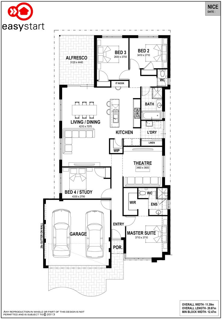 Nice | Easystart Home Designs Perth
