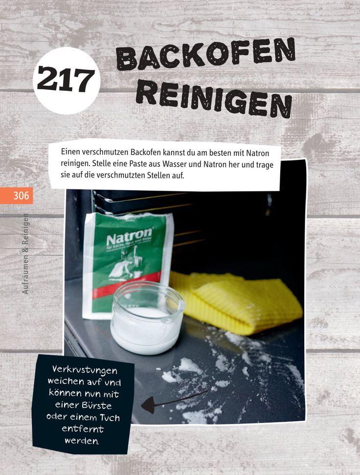 Backofen Mit Natron Reinigen Backblech Reinigen Ganz Einfach With