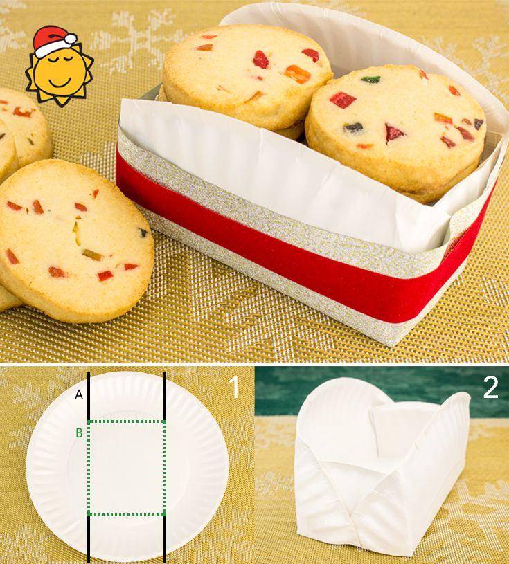 2 en 1! Emballage original et peu coûteux + biscuits des ...