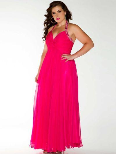 Cassandra Stone II 75730K Flattering Plus Size Dress