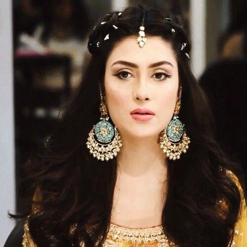 Mehndi Hairstyle Hair Pinterest Pakistani Pakistani Actress