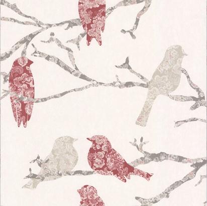 Detail of Wallpaper by Decormaison