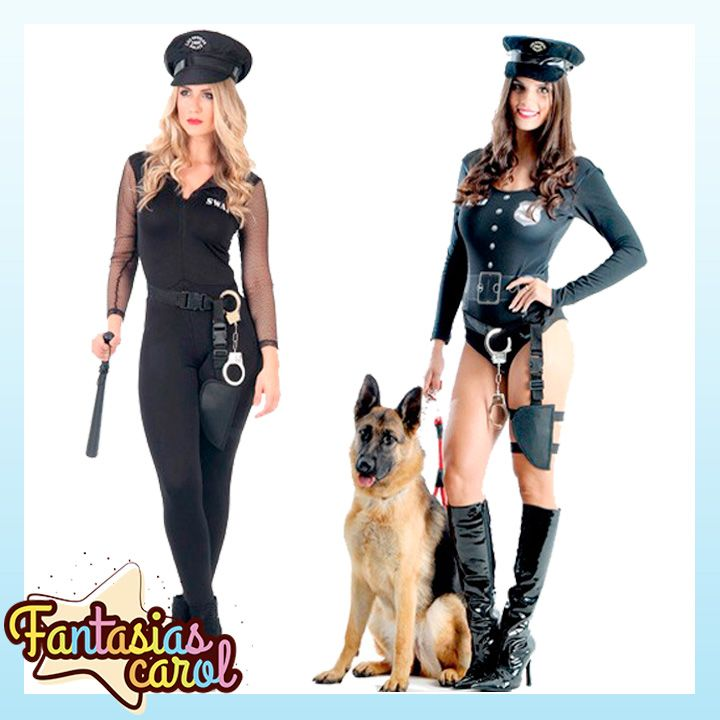 Corram Que Esta Esgotando!!! Fantasia De Policial Feminina