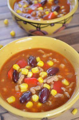 Aga w kuchni: Zupa meksykańska z mięsem mielonym