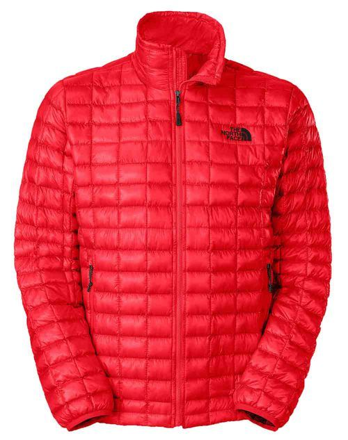 Men's Thermoball Full Zip in Red by The North Face