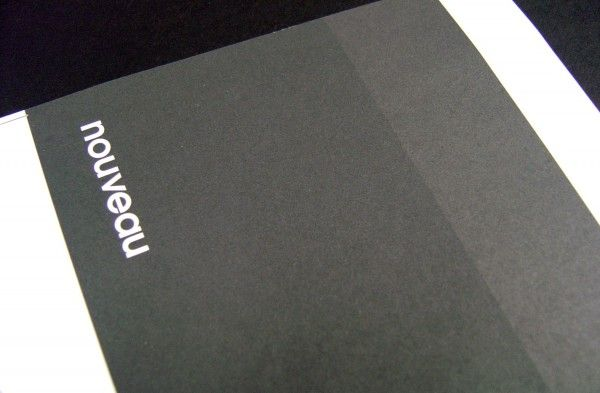 Uncoated Stock paper.