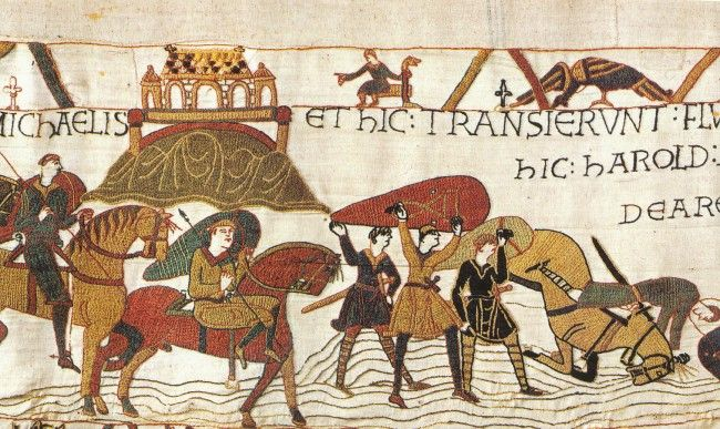 Designer of the Bayeux Tapestry identified - New research has identified the man who designed the Bayeux Tapestry, one of the most important artworks of the Middle Ages. Historian Howard B. Clarke believes that this was Scolland, the abbot of St.Augustine's monastery in Canterbury, and that it was made around the year 1075. #bayeuxtapestry #boydellandbrewer