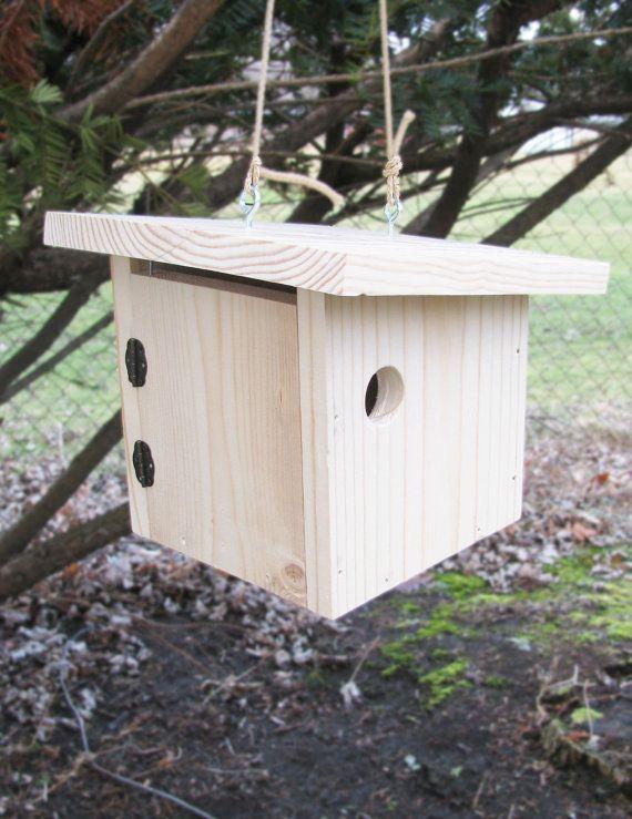 Birdhouse Kit: Flat Top Box by HomeTidingsLLC on Etsy