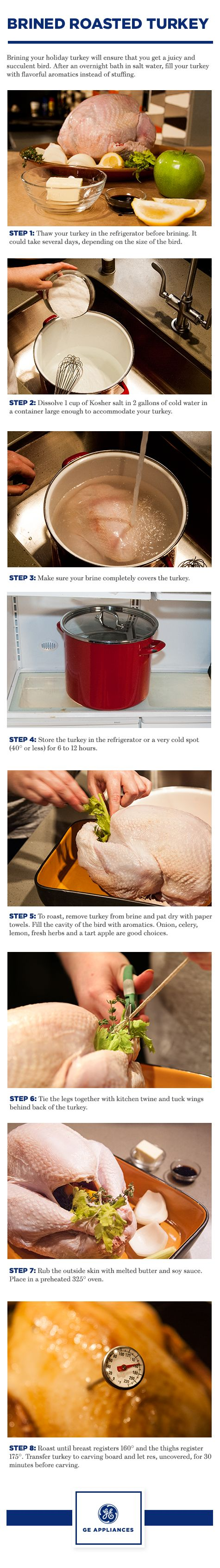 Brining your holiday turkey will ensure that you get a juicy and succulent bird this Thanksgiving. Follow our step-by-step process to wow your guests.