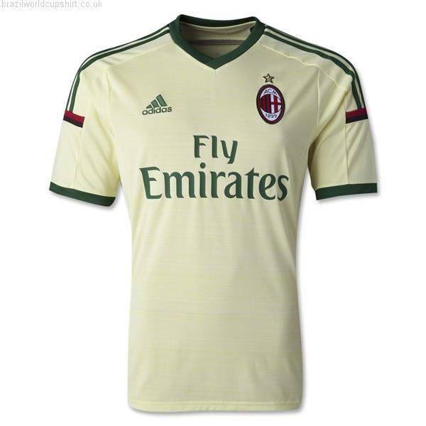 Buy AC Milan 2014/15 Third Football Shirt. #ACMilan shirt.