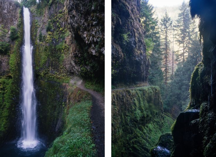Tunnel Falls, Eagle Creek Trail, Oregon, Pacific Crest Trail