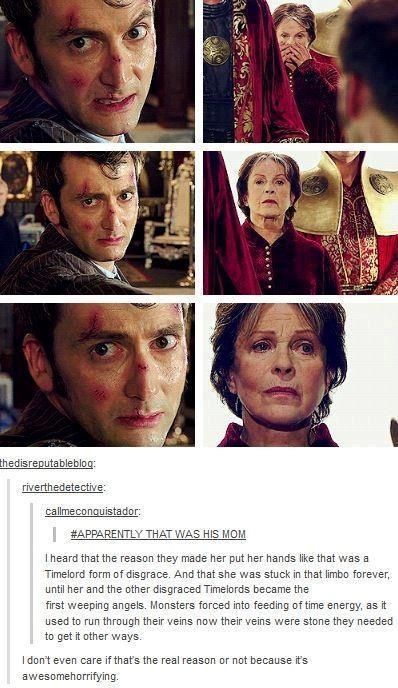 The Time Lords are the Weeping Angels theory?? Heart broken!! Why do you make me cry like this!