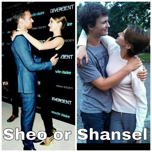 i prefer sheo but what about you theo james and shailene