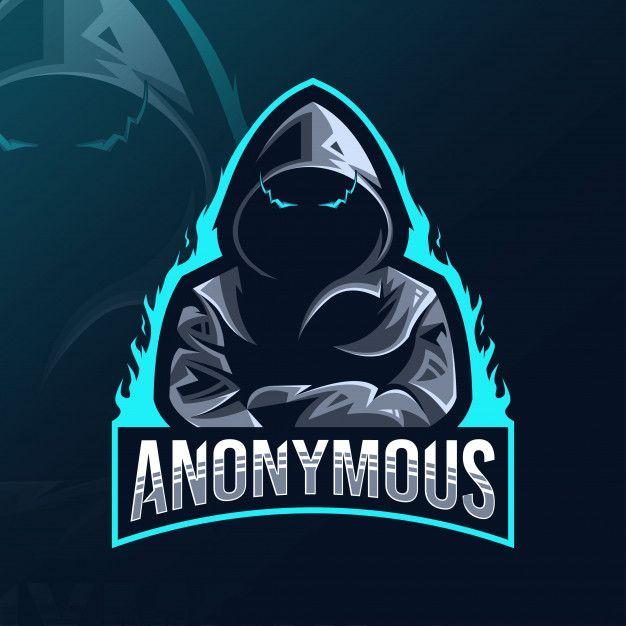 anonymous mascot logo esport design in 2020 logo design art team logo design game logo design anonymous mascot logo esport design in