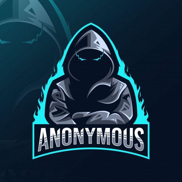anonymous mascot logo esport design in 2020 logo design art team logo design game logo design anonymous mascot logo esport design in