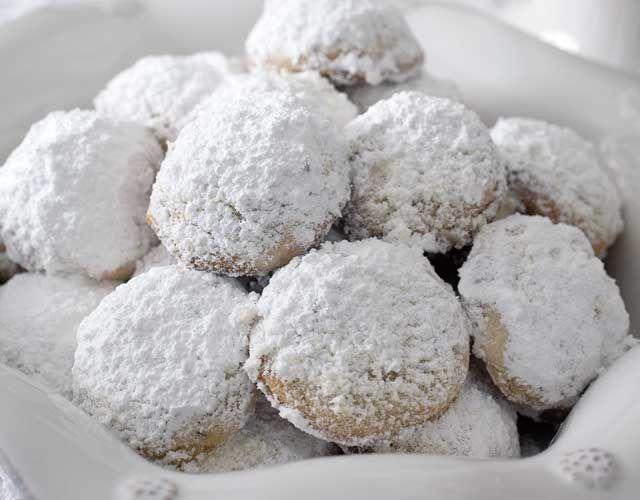 Walnut Russian Tea Cakes