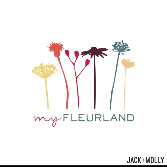 Logo Design/ Branding for My Fleurland by Jack and Molly Creative