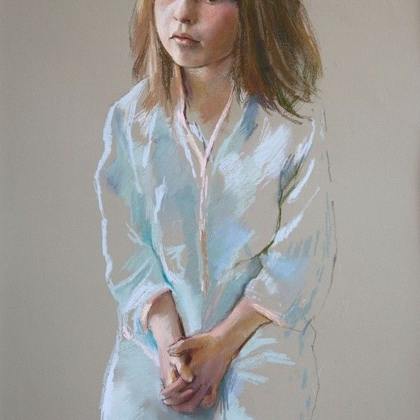 Jeff Stultiens 'The Artist's Daughter Isobel'