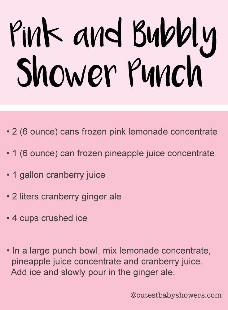 17 Best Baby Shower Punch Rezepte – Blue & Pink Pu…