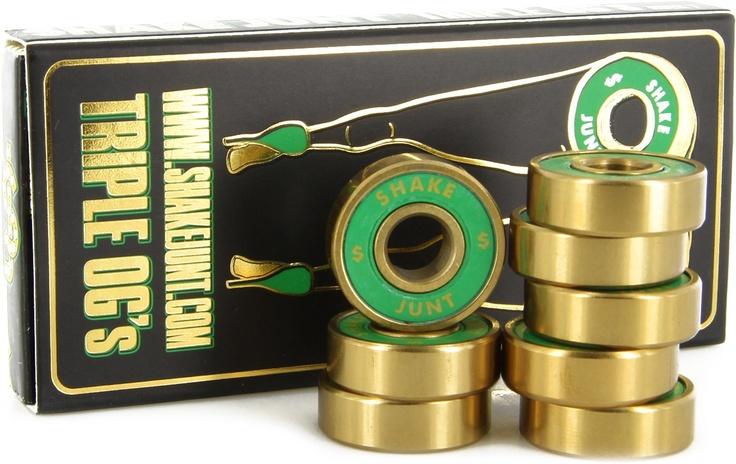 Shake Junt Triple OG ABEC 7 Skateboard Bearings - Skate Shop > Skateboard Parts > Bearings