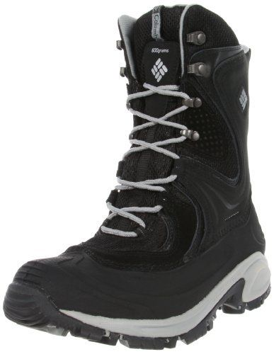 "Columbia Sportswear Women's Snowtrek XTM Snow Boot Columbia. $130.00. Heel measures approximately 2."". Made in Vietnam. Columbia. Boot opening measures approximately 11.5"" around. Leather-and-synthetic. Rubber sole. Shaft measures approximately 8.5"" from"
