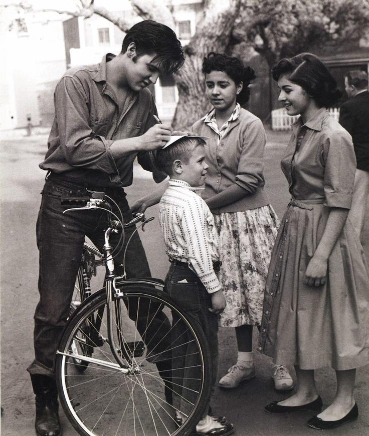 Music was my first love....Elvis!