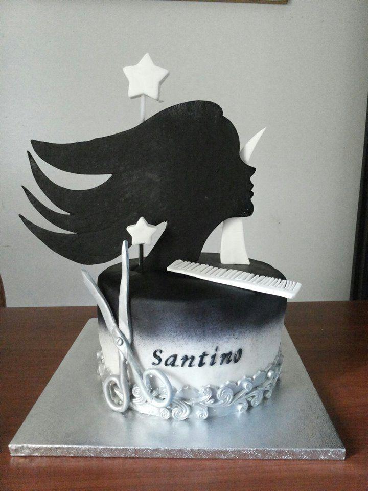 torta parrucchiere , hairdresser cake