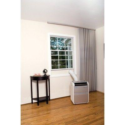 Haier - 8000-Btu Portable Air Conditioner, HPRB08XCM-T, White