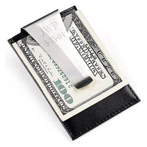 Engraved Money Clip Credit Card Holder