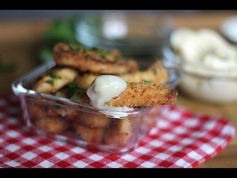BASTONCINI DI POLLO AL FORNO ricetta facile senza uova