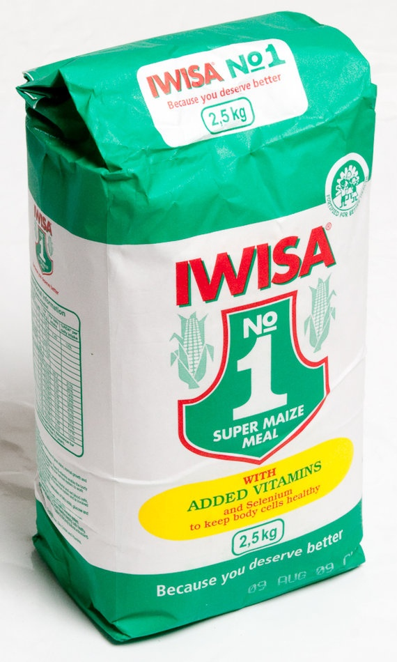 Iwisa Maize Meal Food staples, West africa, South africa