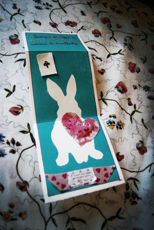 El conejo blanco!
