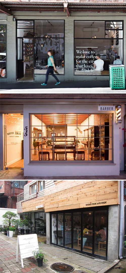 Retail signage trends: subtletyHipster Cafe, Quote