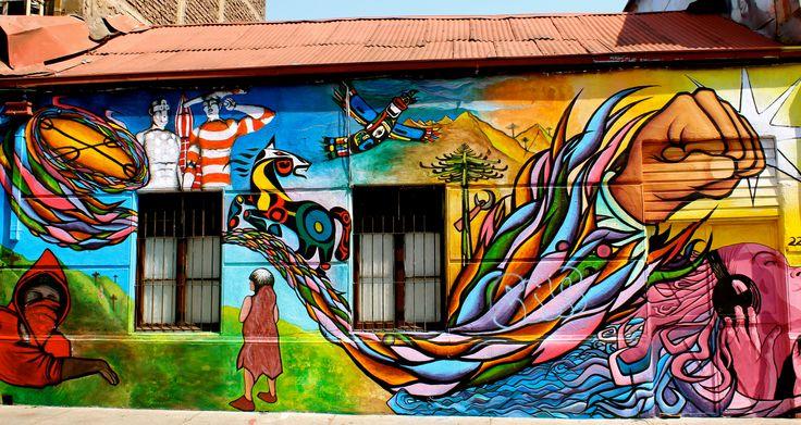 Street art, Santiago de Chile