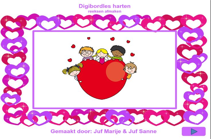 digibordles harten