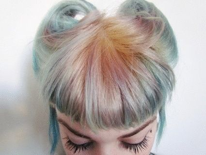 Faded Pastel Hair Colors