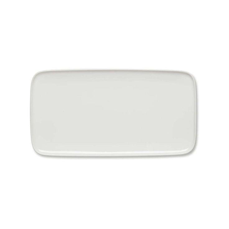 Marimekko - Oiva Servierplatte, 16 x 30 cm, weiß Jetzt bestellen unter: https://moebel.ladendirekt.de/kueche-und-esszimmer/besteck-und-geschirr/geschirr/?uid=71162b2f-6ee5-5dcb-be53-138d04f860e0&utm_source=pinterest&utm_medium=pin&utm_campaign=boards #geschirr #kueche #esszimmer #besteck