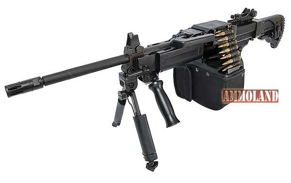 israel-weapon-industries-NEGEV-NG7-light-machine-gun. Fascinating light machine gun.