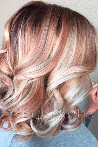 30 Elegante und schicke Farboptionen und -stile für wunderschönes Auburn-Haar …