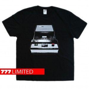T-MAGNET silver - koszulka z pradawnym magnetofonem kasetowym http://sklep.galeria777.pl