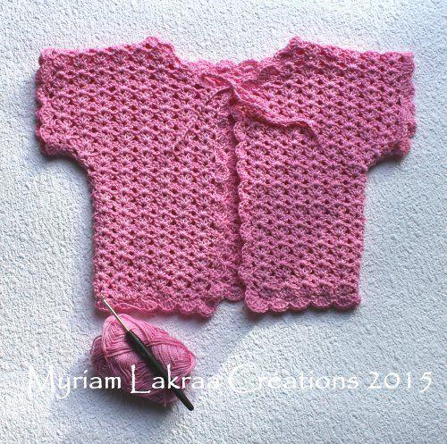 crochet gilet pour b b taille 1 an mod le n 9 du livre phildar livre tricot n 840 tricoter. Black Bedroom Furniture Sets. Home Design Ideas