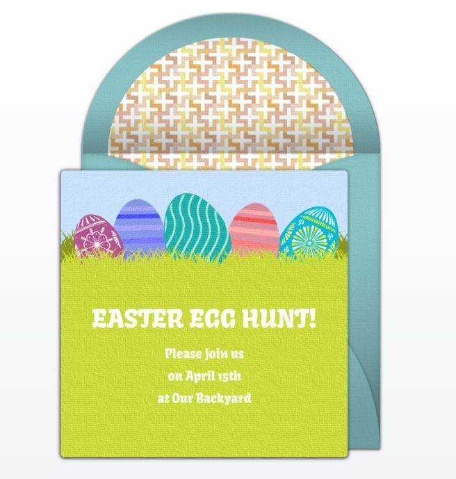 "Wish Your Loved Ones a ""Happy Easter"" With These Free Online Cards: Free Easter Ecards at Punchbowl"