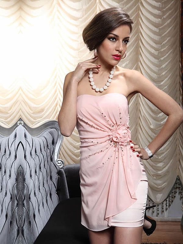 Carol-Vestido de Coquetel em tecido de seda - dresseshop.pt